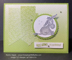 Darling Donkey Sale-a-Bration stamp set