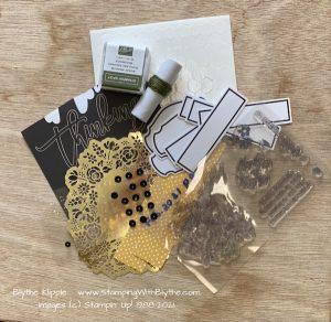Leftover Feb 2021 Paper Pumpkin Kit pieces