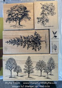 Lovely as a Tree, retired, Stampin' Up!