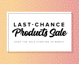 Last-Chance Products Sale