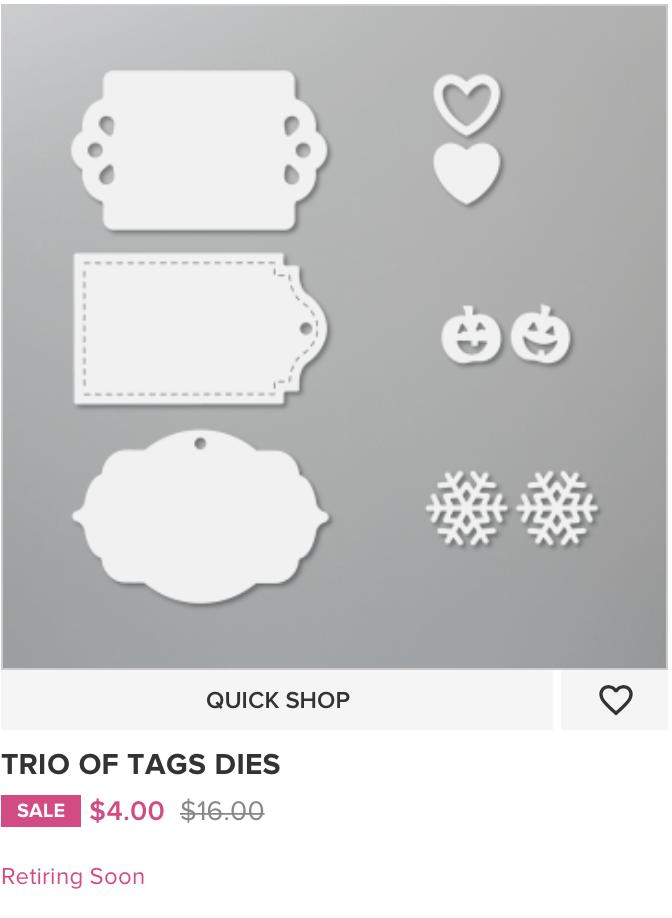 Trio of Tags Dies