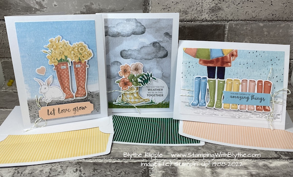 No Matter the Weather Kit from Stampin' Up!