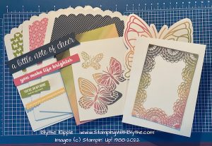 Note of Cheer card kit