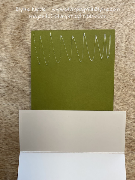 Attaching layers to connect the card front