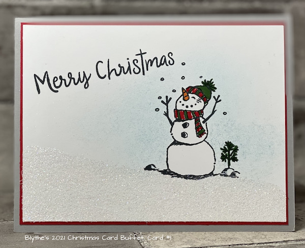 Card #1 2021 Cmas Card Buffet