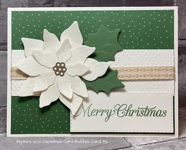 Card #12 2021 Cmas Card Buffet